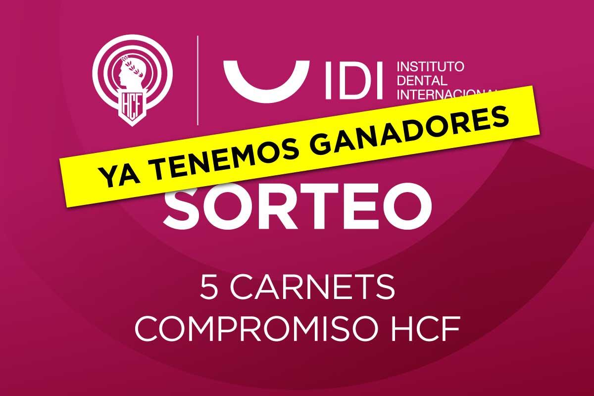 Ganadores Sorteo: 5 Carnets Compromiso Hércules CF.