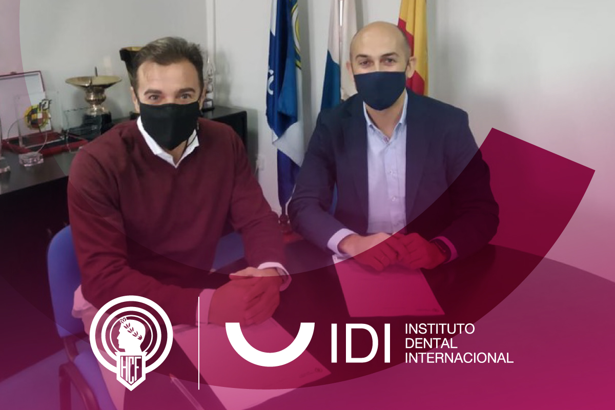 IDI, la clínica dental del Hércules de Alicante CF.